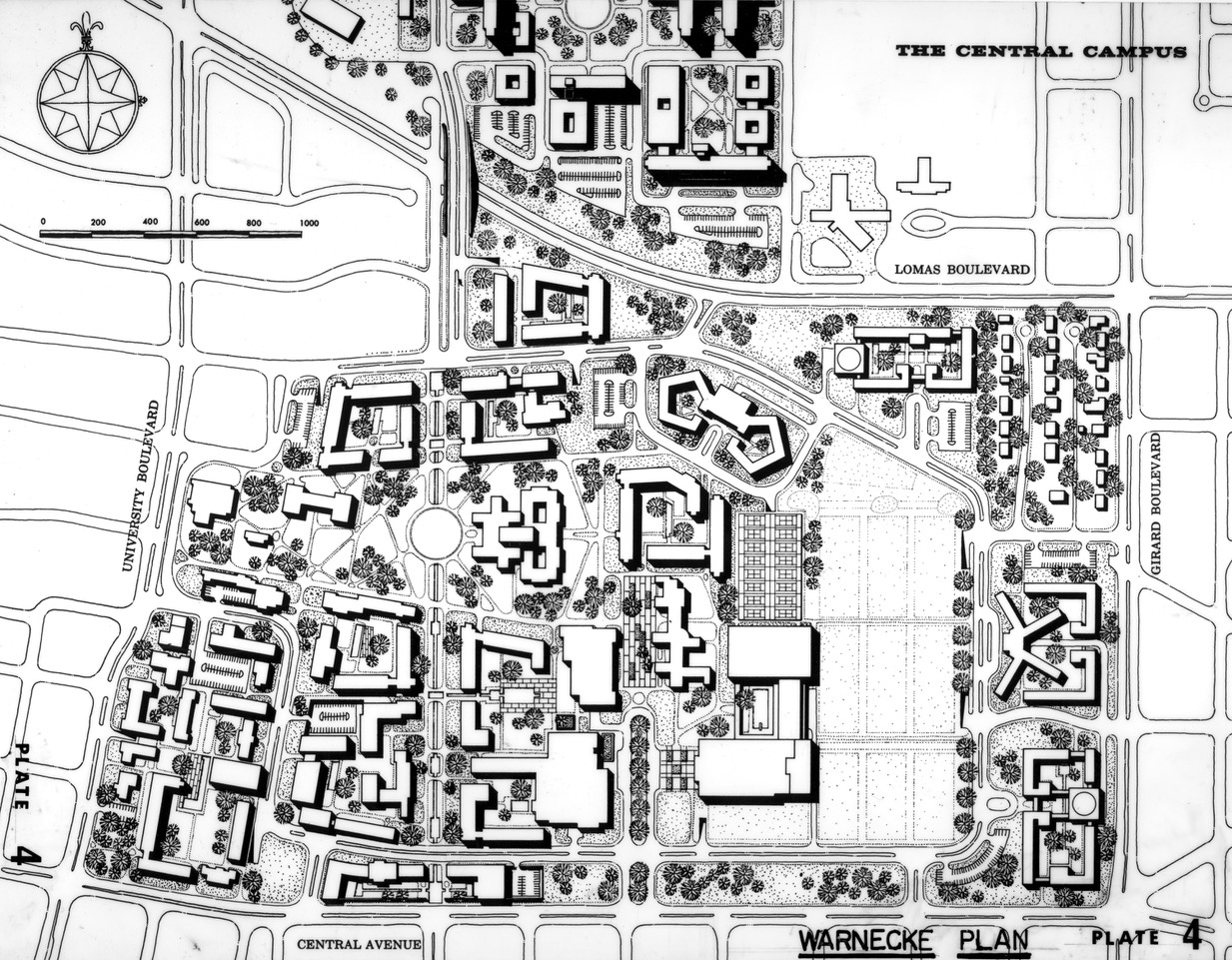 Image #7 Warnecke Campus Plan1959