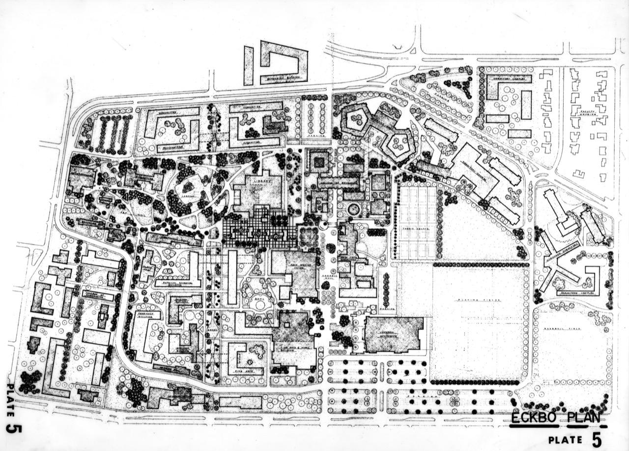 Image #9a. Eckbo Landscape Plan1962